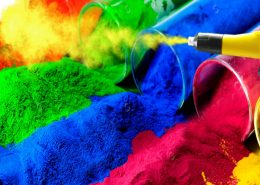 powder coating South Africa coloured powder