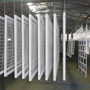 Powder coating Cape Town line from company Solomon