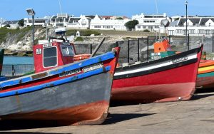 two boats in Cape Town protected with proper marine coating