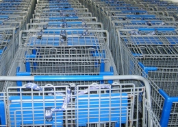 blue carts to buy powder coating powder